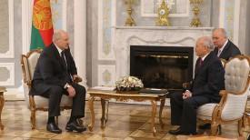 Александр Лукашенко и Мухаммад Саид аль-Ассар