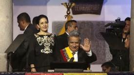 Избранный президент Эквадора Ленин Морено. Фото Аndes
