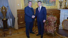 Томас Винклер и Игорь Петришенко. Фото Посольства Республики Беларусь в Российской Федерации