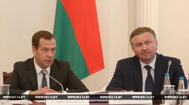 Дмитрий Медведев и Андрей Кобяков. Фото из архива