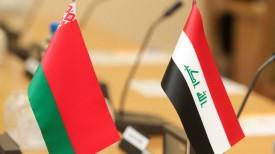 Флаги Беларуси и Ирака. Фото из архива