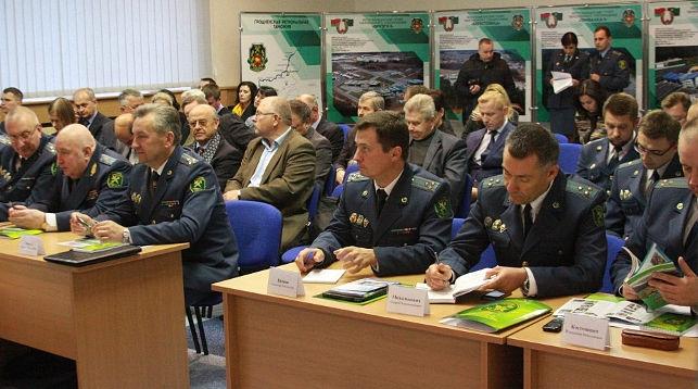Во время заседания. Фото Гродненской региональной таможни