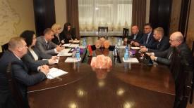 Во время встречи. Фото Министерства экономики Беларуси