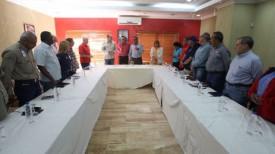 Во время встречи. Фото Министерства базовой, стратегической социалистической промышленности Венесуэлы