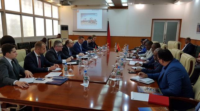 Во время встречи. Фото Посольства Республики Беларусь в Южно-Африканской Республике