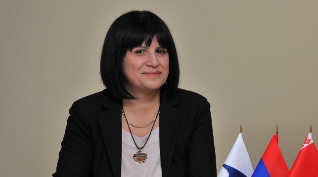 Карине Минасян. Фото с официального сайта конгресса