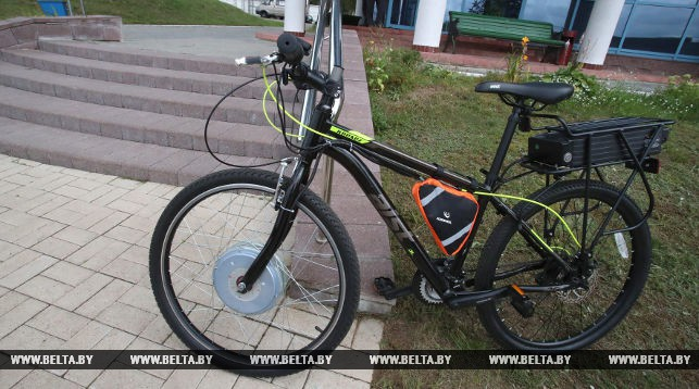 Белорусский электровелосипед