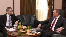 Любомир Заоралек и Владимир Макей. Фото МИД Чехии