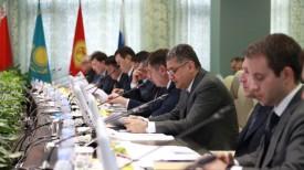 Во время заседания Совета Евразийской экономической комиссии. Фото пресс-службы ЕЭК