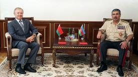 Геннадий Ахрамович и Закир Гасанов. Фото Trend