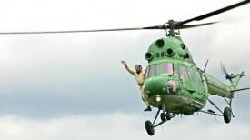Соревнования спортсменов-вертолетчиков. Фото из архива ДОСААФ