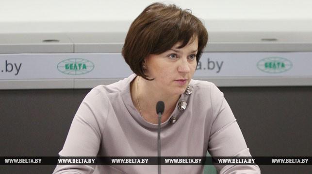 Начальник главного управления организации медицинской помощи Министерства здравоохранения Елена Богдан