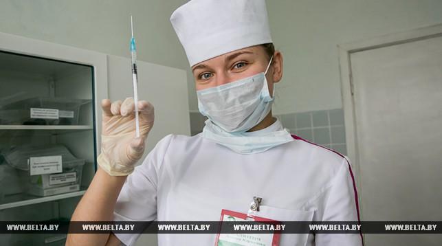 Медицинская сестра процедурного кабинета Брестской городской детской поликлиники №2 Алина Калютич