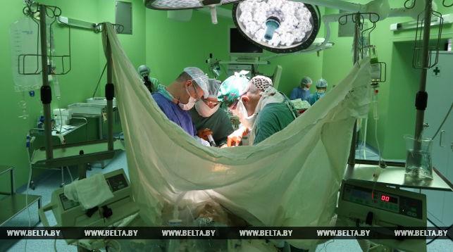 Во время операции по пересадке печени