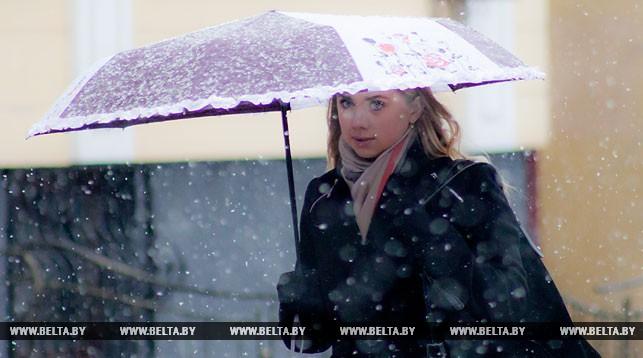 Мокрый снег обещают синоптики Бресту сегодня, 13 ноября