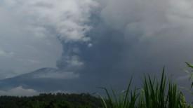 Вулкан Агунг. Фото Синьхуа - БЕЛТА