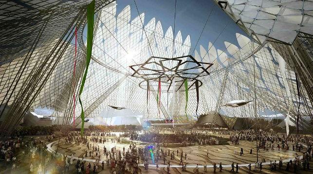 Проект выставочного павильона Экспо-2020 в Дубае