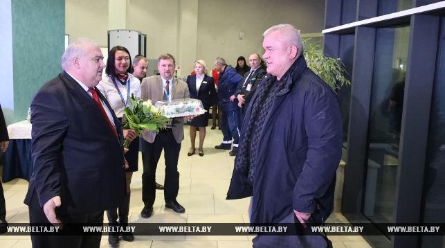 Дмитрий Меликян лично встретил Всеволода Беляева