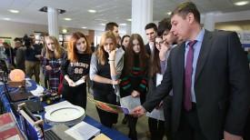 Фото во время Фестиваля молодежной вузовской науки