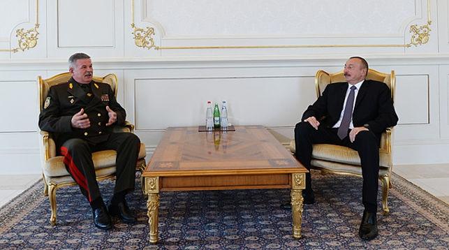 Анатолий Лаппо и Ильхам Алиев
