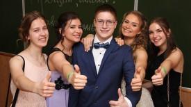 Выпускной в гимназии №2 г. Могилева