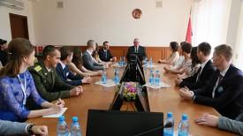 Во время встречи. Фото Министерства образования