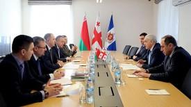 Во время встречи. Фото СК Беларуси
