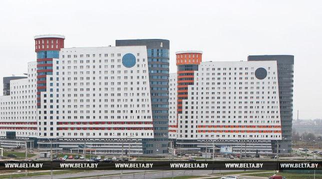 Студенческий городок Белорусского государственного университета. Фото из архива