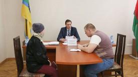 Максим Скобов на приеме у Максима Рыженкова