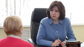 Наталья Кочанова проводит прием граждан