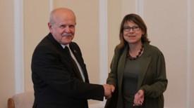 Леонид Анфимов и Фионна Гибб. Фото ГКГ