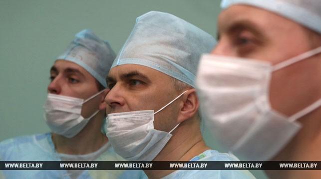 Хирурги Сергей Куль, Сергей Визгалов, Александр Олейник