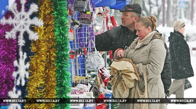 Около 140 предновогодних ярмарок проведут в Брестской области