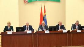Во время пресс-конференции. Фото grodnonews.by
