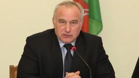 Николай Шерстнев во время пресс-конференции