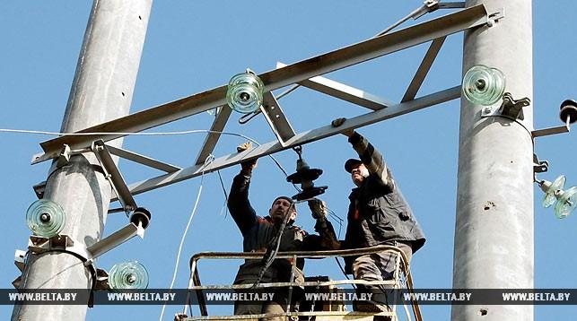 Электроснабжение в пострадавших из-за грозы населенных пунктах Брестской области восстановлено