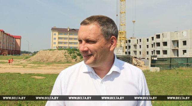 Заместитель председателя Любанского райисполкома Дмитрий Сухан