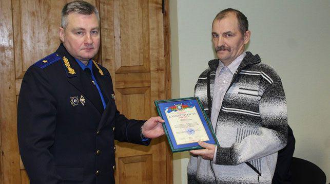 Владимир Шалухин и Владимир Третьяков. Фото УСК по Витебской области