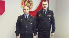 Владимир Савченко и Евгений Асипенко. Фото УВД Гомельского облисполкома