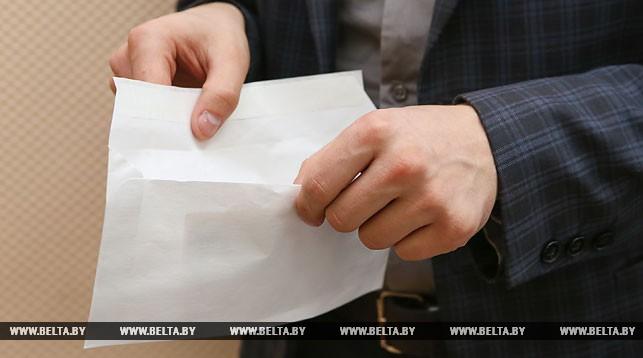 В Ляховичах инспектор Госпромнадзора задержан при получении взятки