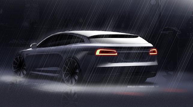Прототип Tesla Model 3 универсал