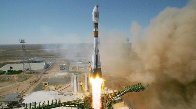 Белорусский спутник дистанционного зондирования Земли запущен 22 июля с космодрома Байконур в Казахстане. БелТА. Фото Роскосмос - БелТА.