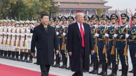 Си Цзиньпин и Дональд Трамп. Фото Синьхуа - БЕЛТА