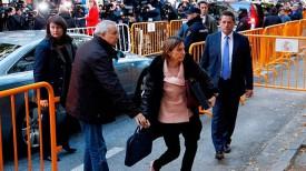Прибытие Карме Форкадель в Верховный суд. Фото Europa Press