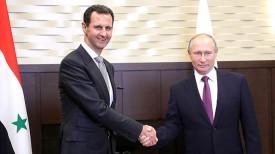 Башар Асад и Владимир Путин. ФотоТАСС - Администрация Президента России