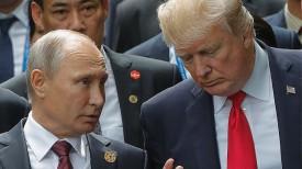 Владимир Путин и Дональд Трамп. Фото из архива ТАСС