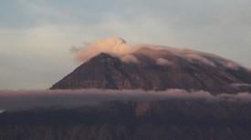 Проснувшийся вулкан. Фото Синьхуа - БЕЛТА