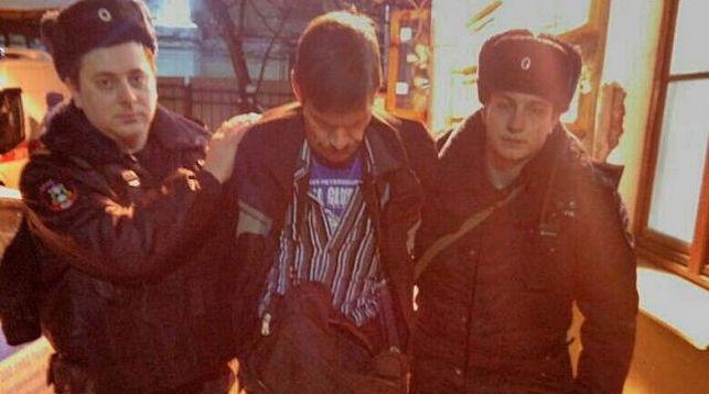 Во время задержания. Фото ГУ Росгвардии по Санкт-Петербургу и Ленобласти