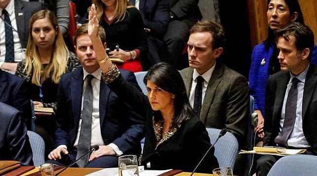 Постпред США при ООН Ники Хейли