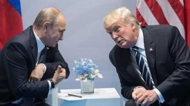 Владимир Путин и Дональд Трамп. Фото РИА Новости